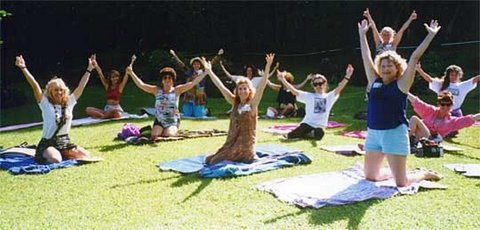 Living Love Kundalini Yoga With Live Music From Antion!