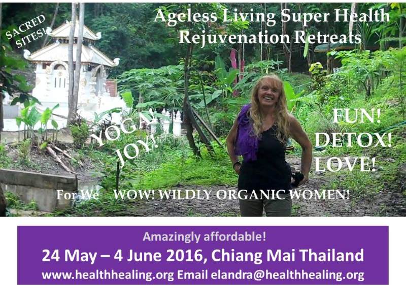 Latest updates & Thai healthy living retreat