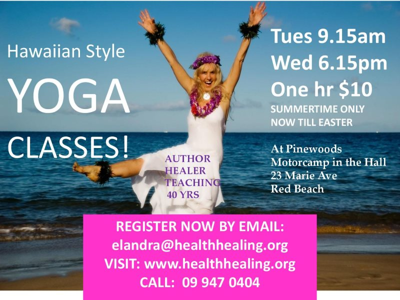 Hawaiian Yoga classes